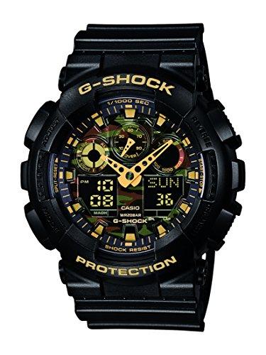 Casio Herren-Armbanduhr XL G-Shock GA-100CF-1A9ER