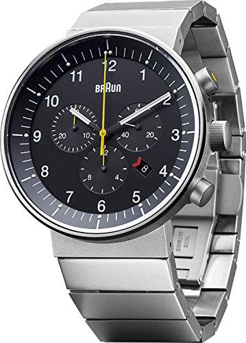 Braun BN0095BKSLBTG Herren-Chronograph