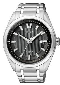 Citizen Herren-Armbanduhr Super Titanium AW1240-57E
