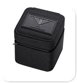 Schwarze KHS Uhrenbox