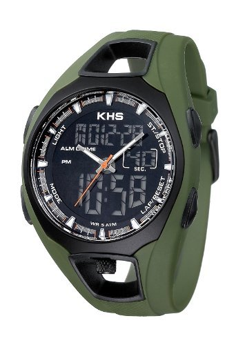 KHS Striker Olive KHS.STO.S Digitaluhr