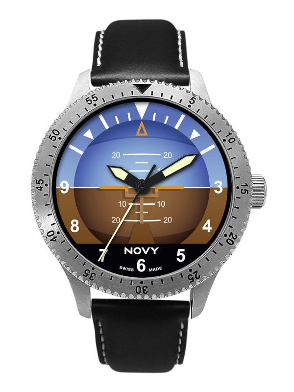 Novy Swiss Made Fliegeruhr N01H