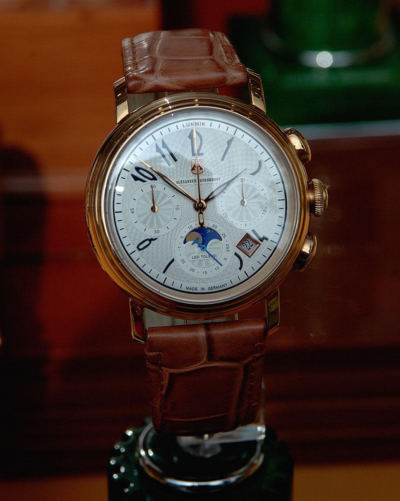 Leo Tolstoi Uhr von Alexander Shorokhoff