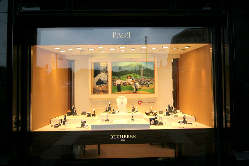Bucherer Store in Luzern