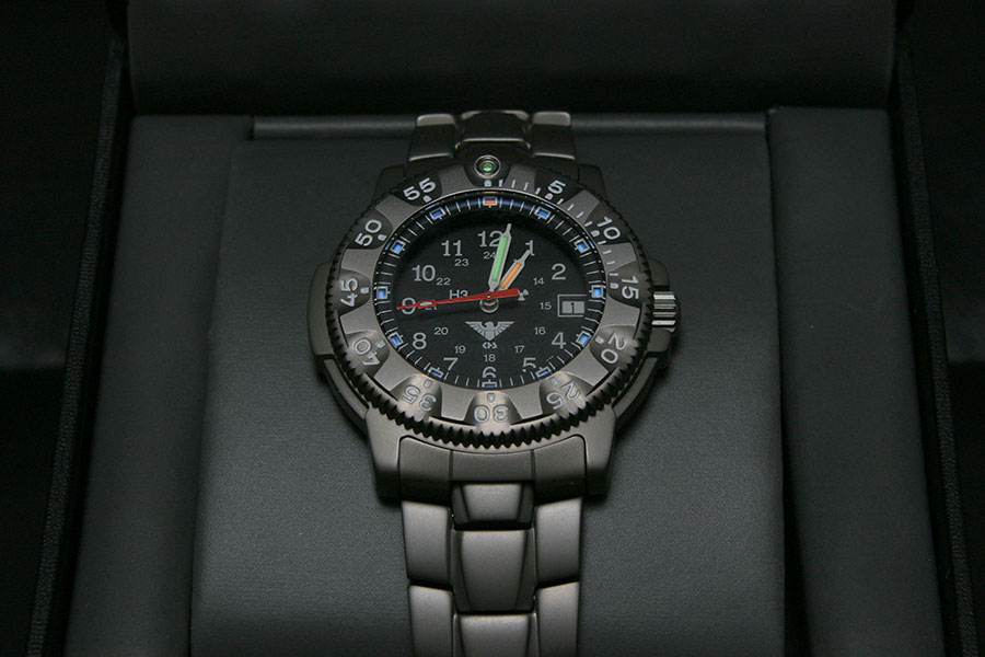 KHS Commander Titan Pro with Titanium Strap