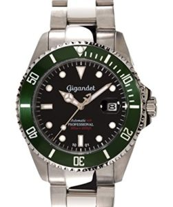 Gigandet Herren-Armbanduhr Sea Ground Taucheruhr G2-005