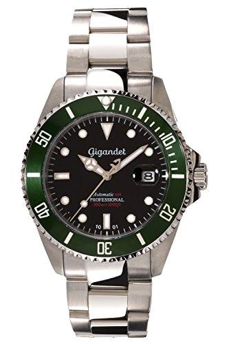 Gigandet Herren-Armbanduhr Sea Ground Taucheruhr G2-005
