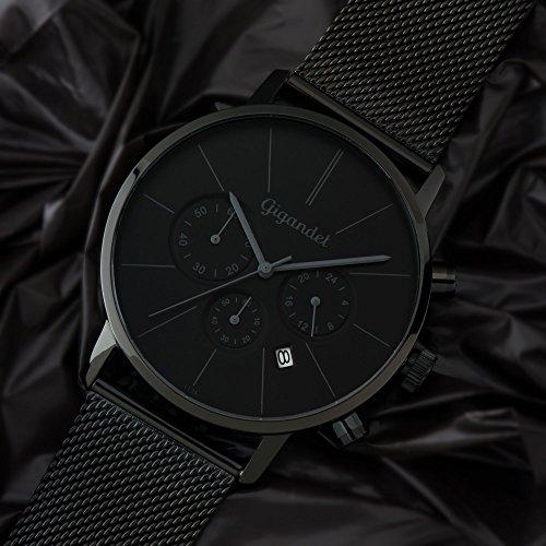 Gigandet Schwarzer Chronograph G32 Minimalism 008 CBerdxoW