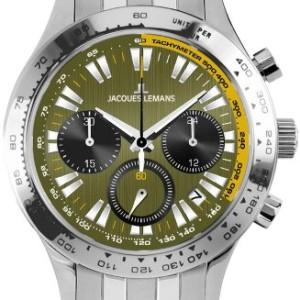 Jacques Lemans Capri 1-1329F Herren-Chronograph