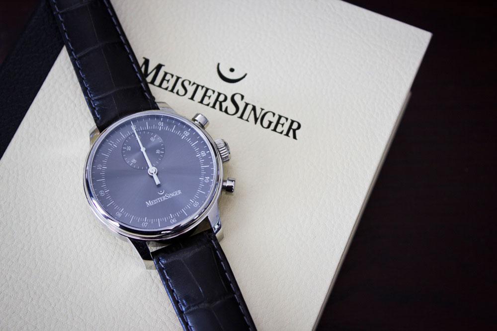 MeisterSinger Einzeigeruhr