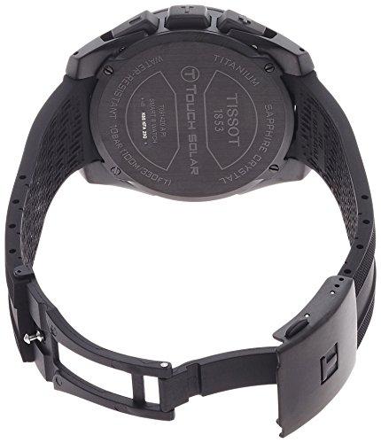Schwarzes Armband der Tissot T0914204705701 T-Touch Expert Solar