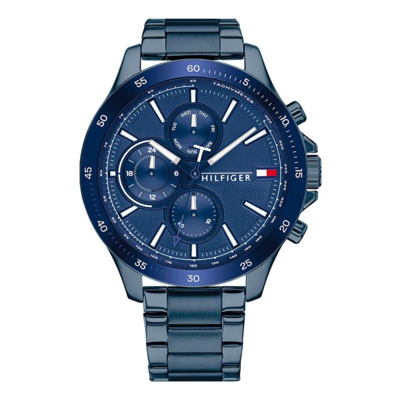 Blaue Tommy Hilfiger Uhr 1791720