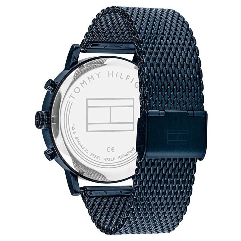 Blaues Milanaise-Armband