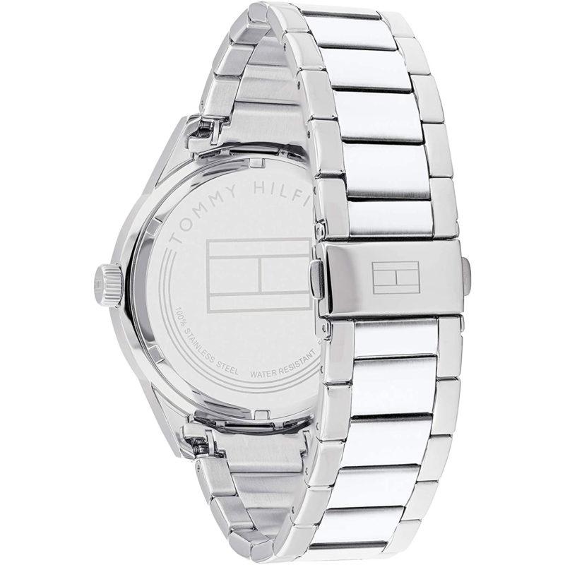 Edelstahlarmband der Tommy Hilfiger Armbanduhr