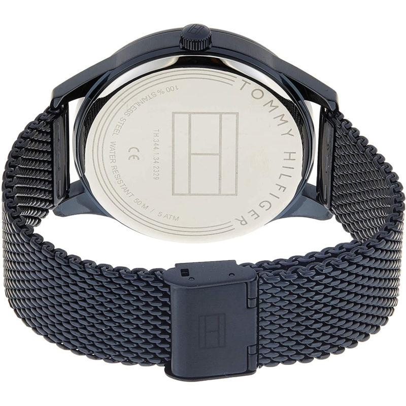 Blaues Mesh-Armband