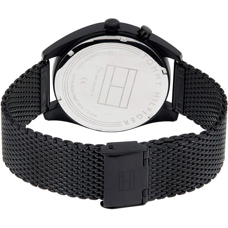 Schwarzes Mesh-Armband
