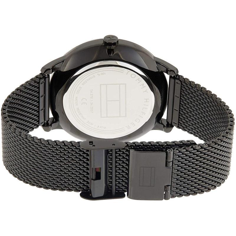 Schwarzes Milanaise-Armband