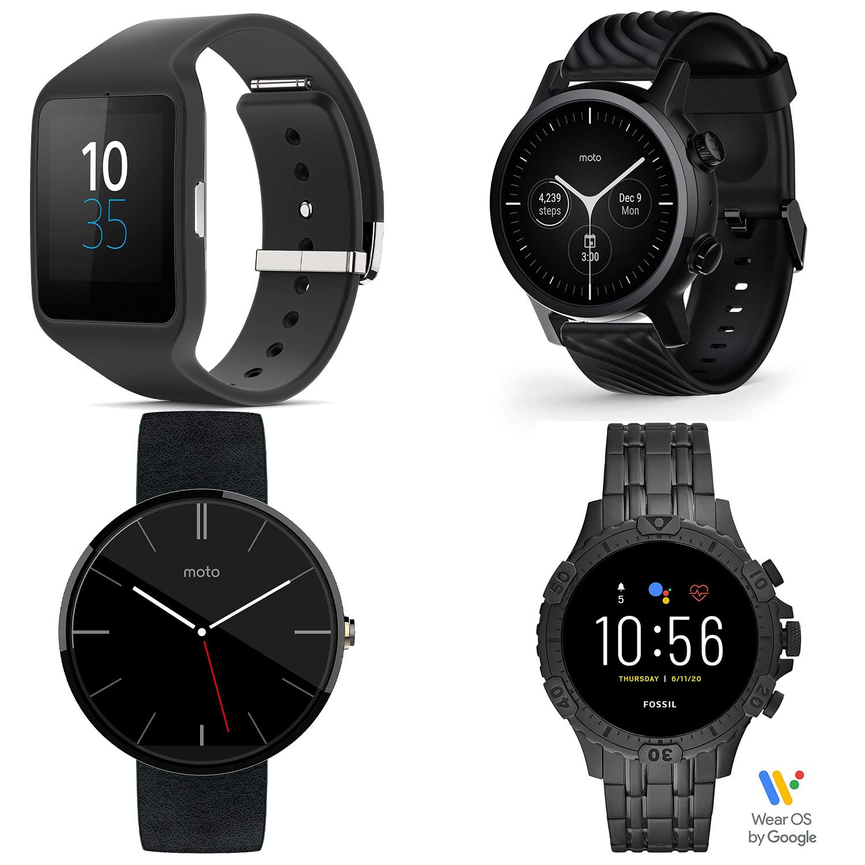 Schwarzes Smartwatches für Herren