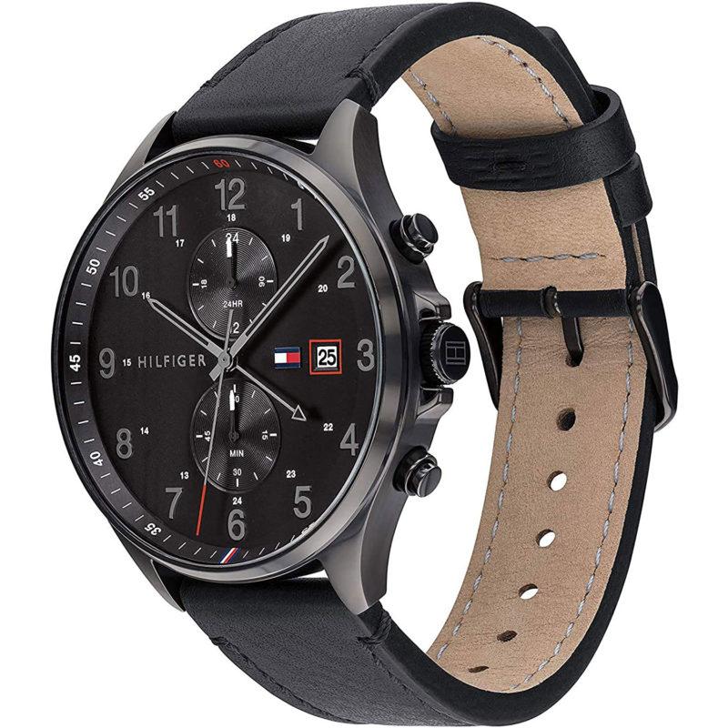 Schwarze Herren-Armbanduhr Tommy Hilfiger 1791711