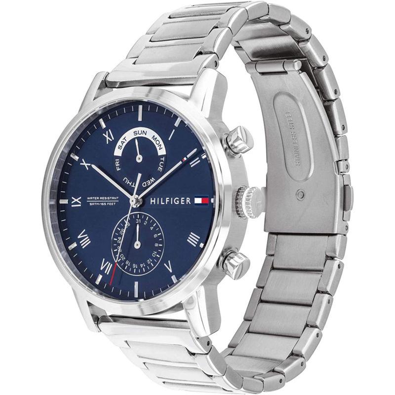 Blau-Silberne Tommy Hilfiger Uhr 1710401