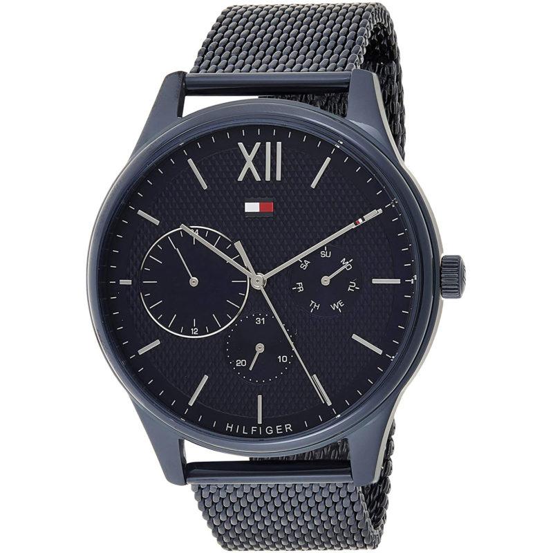 Blaues Tommy Hilfiger Uhr 1791421