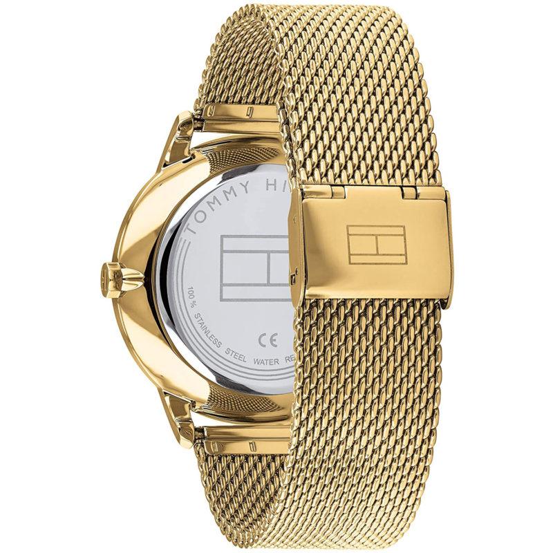 Goldenes Mesh-Armband der Tommy Hilfiger Uhr