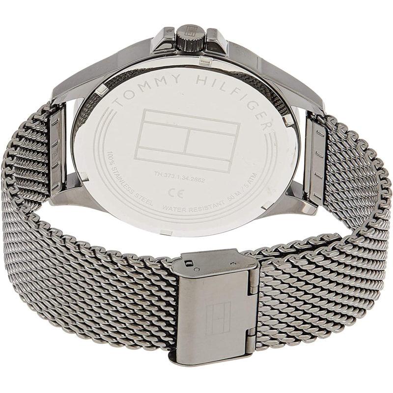 Graues Mesh-Armband von Tommy Hilfiger