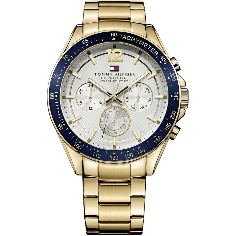 Goldene Tommy Hilfiger Uhr 1791121