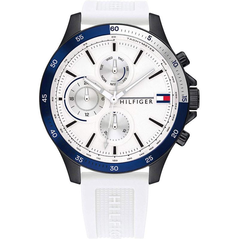 Weiße Tommy Hilfiger Armbanduhr 1791723