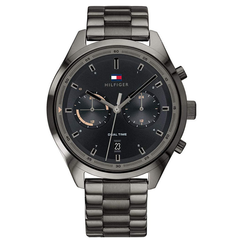 Anthrazite Tommy Hilfiger Herrenuhr